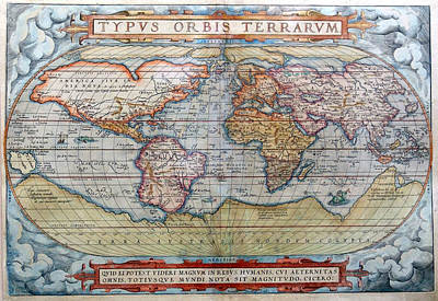 Old Map Poster by FL collection