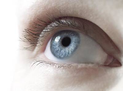Woman's Eye Poster by