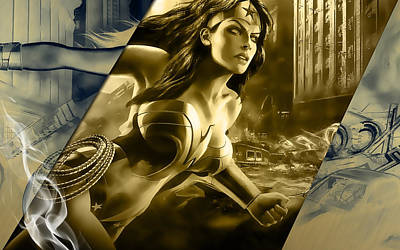 Wonder Woman Art Poster