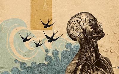 9203 Surrealist Poster
