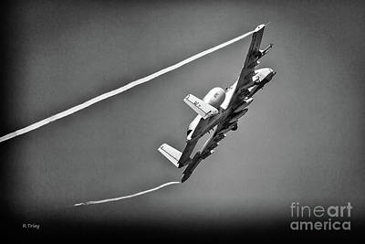 A-10 Thunderbolt II Bw II Poster by Rene Triay Photography