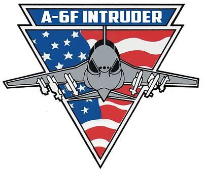 A-6f Intruder Poster
