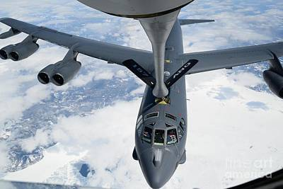 A B-52h Stratofortress Poster by Celestial Images