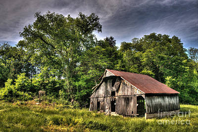 A Barn For All Seasons Poster by William Fields