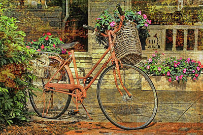 A Basketful Of Spring Poster