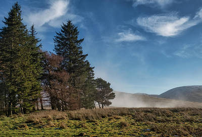 Poster featuring the photograph A Beautiful Scottish Morning by Jeremy Lavender Photography