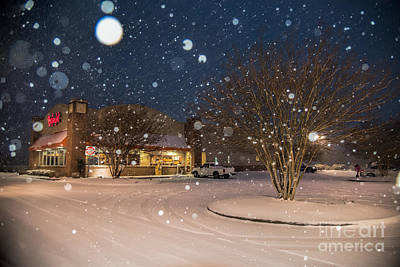 A Blizzard At Bojangles Poster