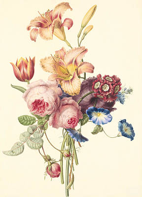 A Bouquet Poster