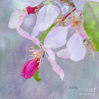 A Breath Of Spring Poster by Betty LaRue