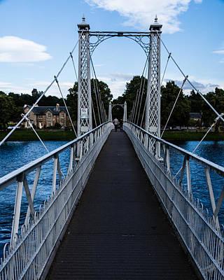 A Bridge For Walking Poster