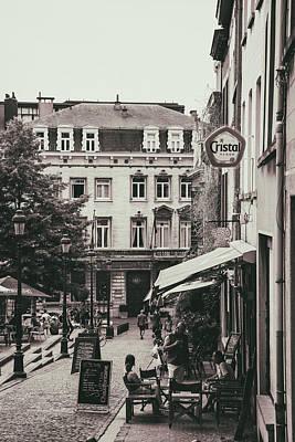 A Brussels Summer Poster