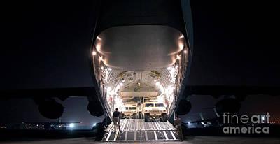 A C-17 Globemaster IIi Aircraft Poster by Stocktrek Images