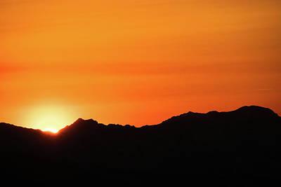 A Colorado Sunset Poster