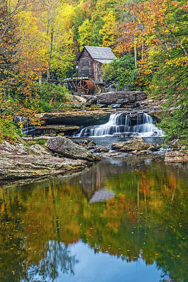 A Colorful Fall Day In Wva Poster