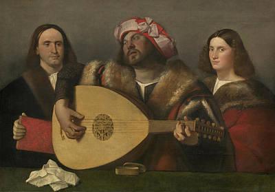 A Concert Poster by Giovanni de Busi Cariani