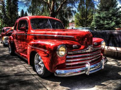 A Cool 46 Ford Coupe Poster