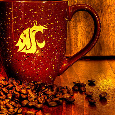 A Cuppa Coug Poster by David Patterson