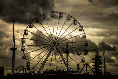 Poster featuring the photograph A Day At The Fair by Chris Lord