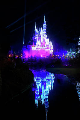 Poster featuring the photograph A Disney New Year by Mark Andrew Thomas