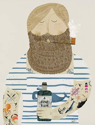 A Fine Rum Poster by Bri B