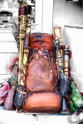 A Flute Makers Life Poster by John Haldane