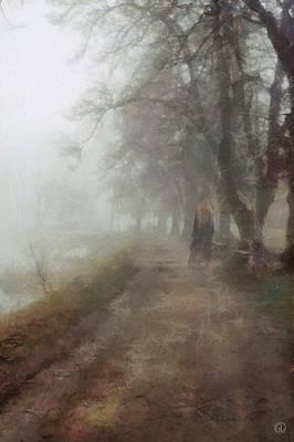 A Foggy Day Poster by Gun Legler