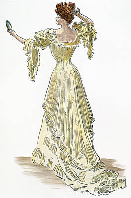 A Gibson Girl, 1903 Poster