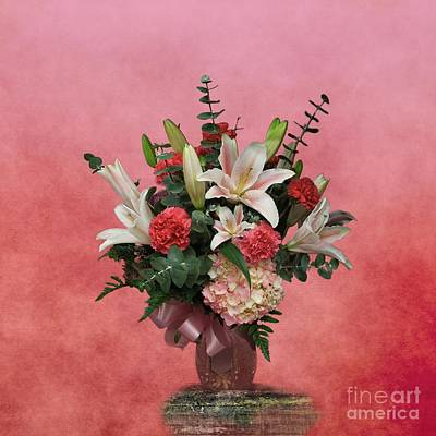 A Gift Of Flowers Poster