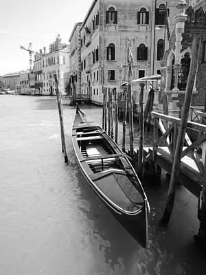 A Gondola In Venice, Italy Poster by Ka Yan Ng