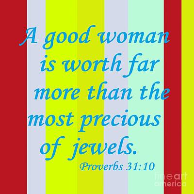A Good Woman Poster by Eloise Schneider