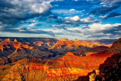 A Grand Canyon Sunset Poster