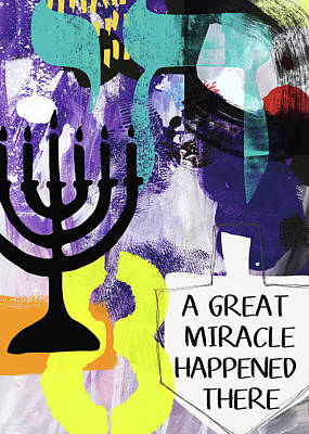 A Great Miracle- Art By Linda Woods Poster by Linda Woods