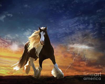 A Gypsy Storm Poster by Melinda Hughes-Berland