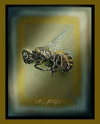A Humble Bee Remembered Poster