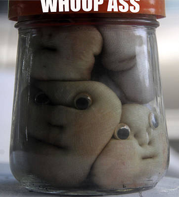 A Jar Of Poster by David Lee Thompson