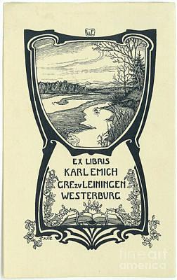 a Karl Emich Grf.zv Leiningen Poster by MotionAge Designs