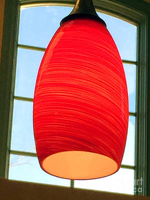 A Light On In Trhe Window Poster