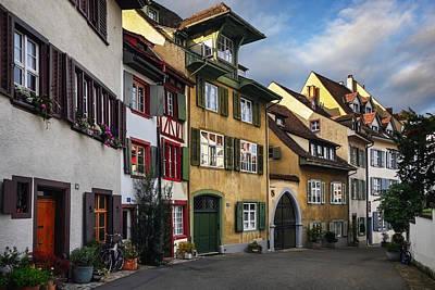 A Little Swiss Street Poster