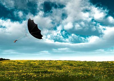 A Little Windy Poster