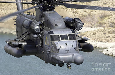 A Mh-53j Pave Low IIie Heavy-lift Poster by Stocktrek Images