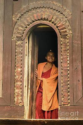 A Monk 4 Poster