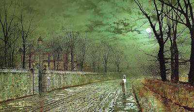 A Moonlit Evening Poster