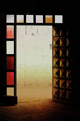 A Moroccan Doorway  Poster by Tom Gowanlock