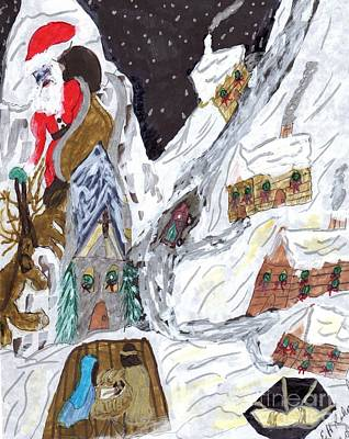 A Mountain Village Poster