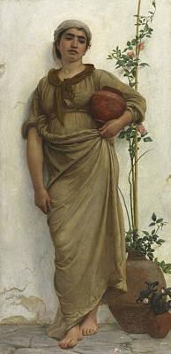 A Neapolitan Flower Seller, 1883  Poster by Walter Maclaren