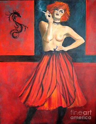 A New Version Of Lisbeth Salander Poster