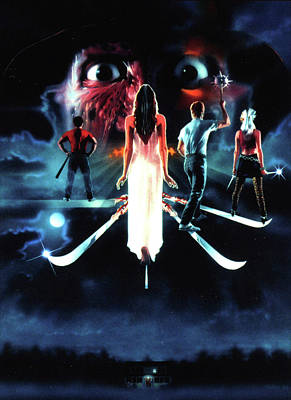 A Nightmare On Elm Street 3  Dream Warriors 1987 Poster by Unknown