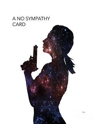 A No Sympathy Card  Poster