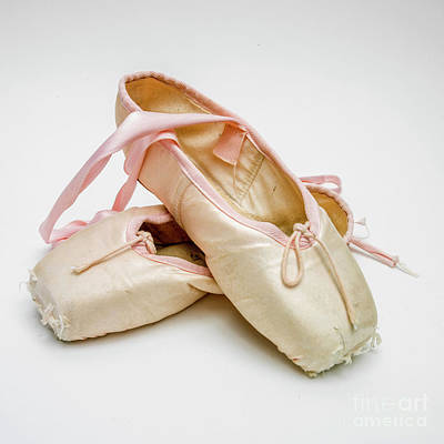 A Pair Of Ballet Shoes Poster by Bernard Jaubert