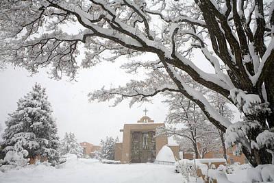 A Peaceful Winter Scene Poster